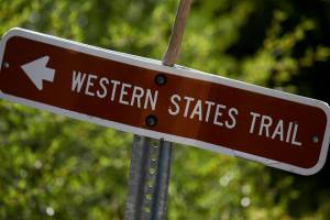WS trail sign